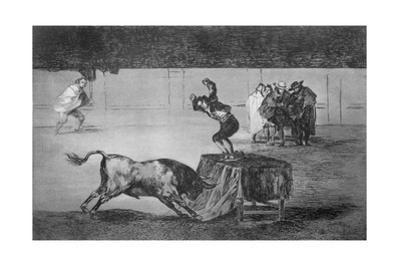 Another Madness of His (Martincho by Francisco de Goya