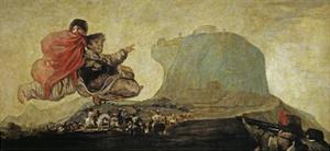 Asmodea or Fantastic Vision by Francisco de Goya
