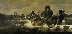 Atropos (The Fate) by Francisco de Goya