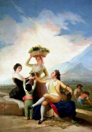 Autumn, or the Grape Harvest, 1786-87 by Francisco de Goya