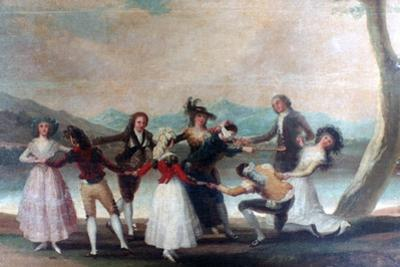 Blind Man's Buff, 1788-1789 by Francisco de Goya