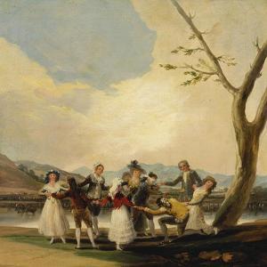 Blind Man's Buff, 1788 by Francisco de Goya
