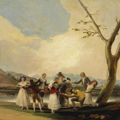 Blind Man's Buff. 1788 by Francisco de Goya