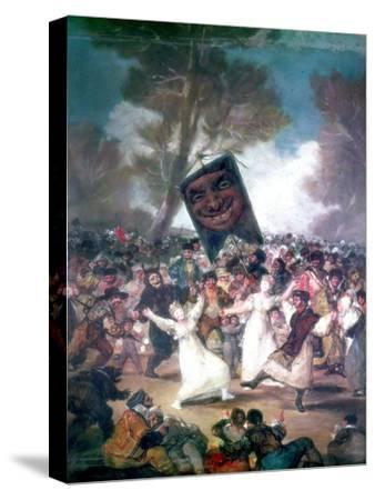 Bull Fight in a Village, 1812-1814