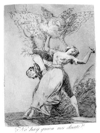 Can't Anyone Unite Us?, 1799 by Francisco de Goya