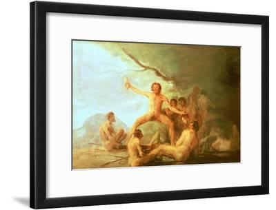 Cannibals Savouring Human Remains, 1800-1808