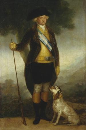 Carlos Iv of Spain, Hunting c.1799-1800 by Francisco de Goya