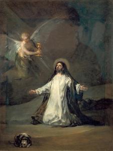 Christ in Gethsemane by Francisco de Goya