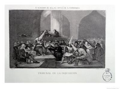Court of the Inquisition by Francisco de Goya