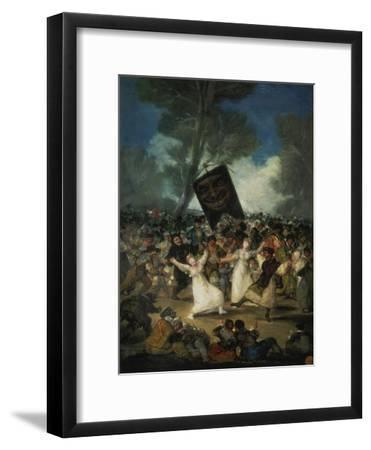 Das Begraebnis Der Sardine. Karnevalsszene, um 1812/1819