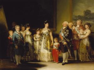 Die Familie Karls Iv. Von Spanien, 1800/1801 by Francisco de Goya