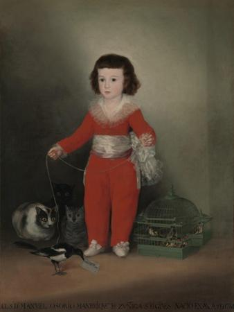 Don Manuel Osorio Manrique De Zuniga (1784-92), 1790 by Francisco de Goya