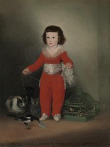 Don Manuel Osorio Manrique De Zuniga (1784-92), 1790 by Francisco de Goya