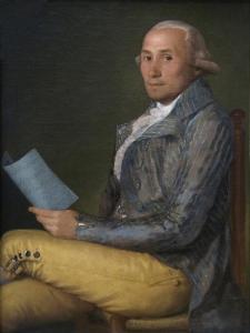 Don Sebastián Martínez Y Pérez by Francisco de Goya