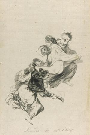 Dream of Flogging, 1801-03 by Francisco de Goya