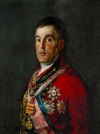 Duke of Wellington, 1769-1852 by Francisco de Goya