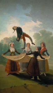 El Pelele (The Puppet), 1791/92 by Francisco de Goya