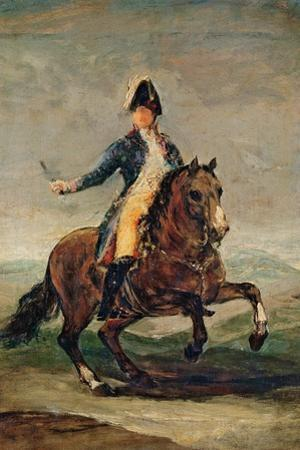 Equestrian Portrait of Ferdinand VII (1784-1833) King of Spain by Francisco de Goya