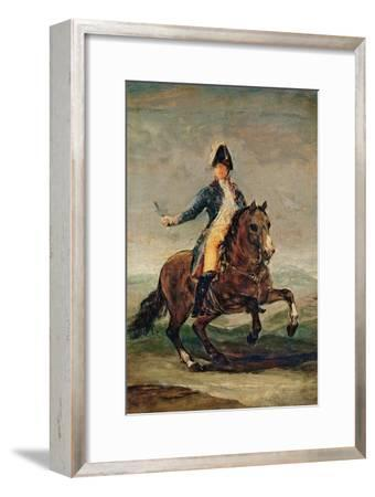 Equestrian Portrait of Ferdinand VII (1784-1833) King of Spain