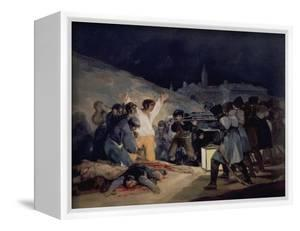 Execution of the Defenders of Madrid, 3rd May, 1808, 1814 by Francisco de Goya