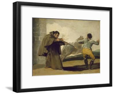 Friar Pedro Shoots El Maragato as His Horse Runs Off, C.1806
