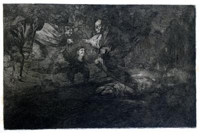 Funereal Riddle, 1819-1823 by Francisco de Goya