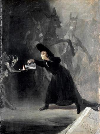 Goya: Bewitched, 1798 by Francisco de Goya