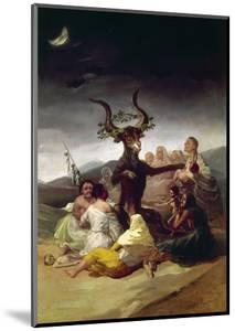 Goya: Witches Sabbath by Francisco de Goya