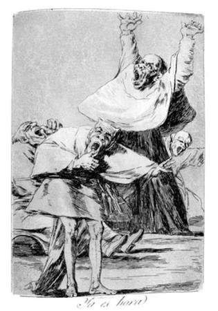 It Is Time, 1799 by Francisco de Goya