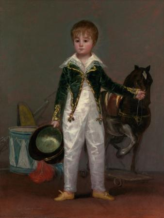 José Costa y Bonells (died 1870), Called Pepito, c.1810 by Francisco de Goya