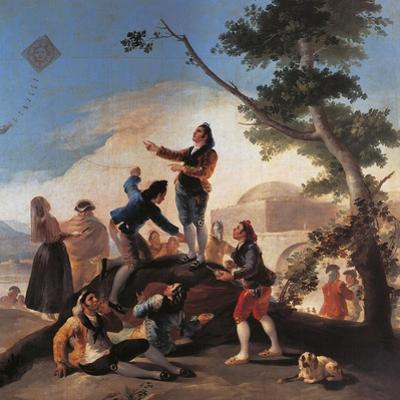 Kite, 1777-1778 by Francisco de Goya