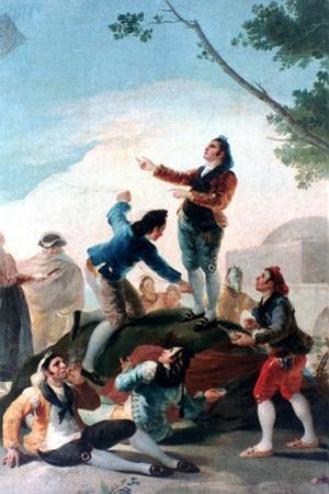La Cometa, (The Kit), 1778 by Francisco de Goya