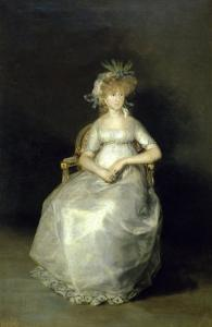 La Comtesse de Chichon by Francisco de Goya