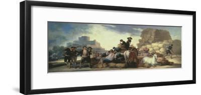 La Era O El Verano, the Threshing Floor or Summer, Tapestry Cartoon, 1786 by Francisco de Goya