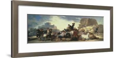 La Era O El Verano, the Threshing Floor or Summer, Tapestry Cartoon, 1786