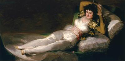 La Maja Vestida, the Clothed Maja, 1800-08 by Francisco de Goya
