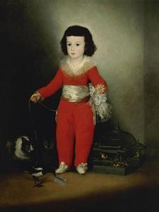 Manuel Osorio Manrique De Zuñiga, Ca. 1790, Spanish School by Francisco de Goya