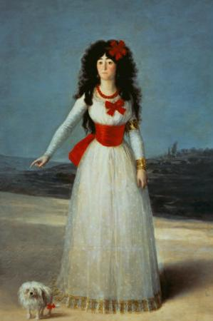 Maria Teresa Cayetana de Silva, Duchess of Alba by Francisco de Goya