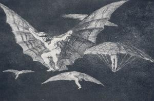 Modo De Volar by Francisco de Goya