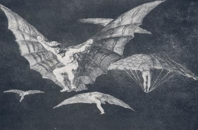 Modo De Volar by Francisco de Goya