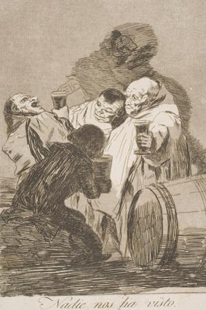 Nadie Nos Ha Visto by Francisco de Goya