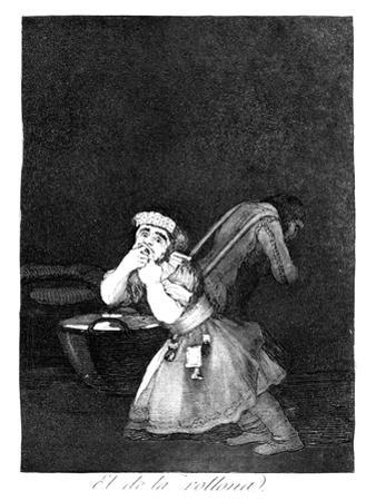 Nanny's Boy, 1799 by Francisco de Goya