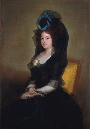 Narcisa Barañana de Goicoechea, 1815-6 by Francisco de Goya