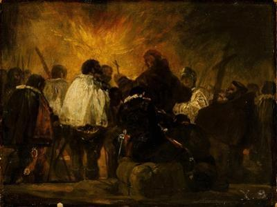 Night of the Inquisition by Francisco de Goya