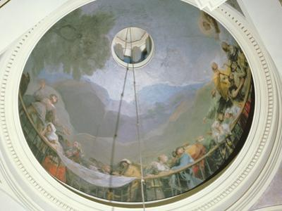 Overview of the Cupola Showing St Anthony, 1798