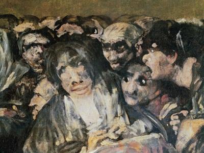 Pilgrimage to San Isidro, 1821 by Francisco de Goya