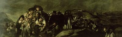 Pilgrimage to San Isidro's Fountain, C.1821/3 by Francisco de Goya