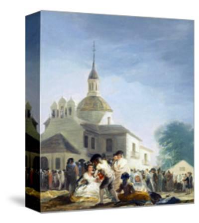 Pilgrims Before the Capel of Saint Isidore La Ermita De San Isidro El Dia De La Fiesta 1788