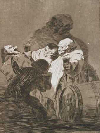 Plate from Los Caprichos, 1797-1798 by Francisco de Goya
