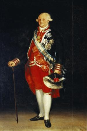 Portrait of Carlos IV by Francisco de Goya